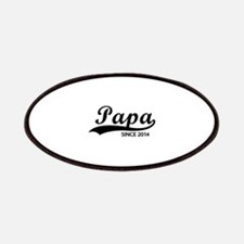 Papa since 2014 Patches