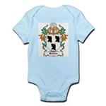 Ruxton Coat of Arms Infant Creeper