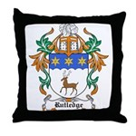 Rutledge Coat of Arms Throw Pillow