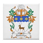 Rutledge Coat of Arms Tile Coaster