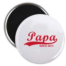 "Papa since 2013 2.25"" Magnet (10 pack)"