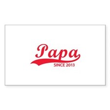 Papa since 2013 Decal