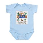 Rutledge Coat of Arms Infant Creeper