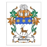 Rutledge Coat of Arms Small Poster