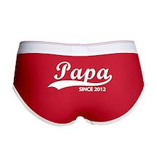 Papa since 2012 Women's Boy Brief