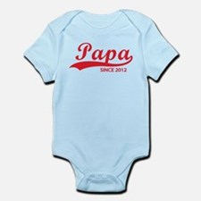 Papa since 2012 Infant Bodysuit