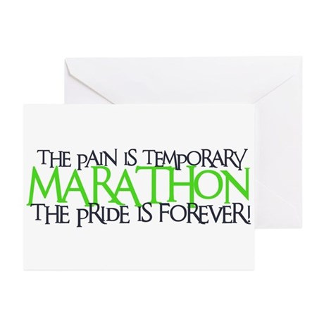 Marathon- The Pride is Forever Greeting Cards (Pac
