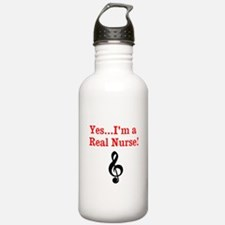 Yes...Im a Real Nurse! Water Bottle