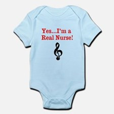 Yes...Im a Real Nurse! Infant Bodysuit