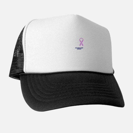 Male Breast Cancer Awareness Trucker Hat
