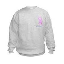 Male Breast Cancer Awareness Sweatshirt