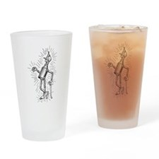 Freshly Oiled Tinman Drinking Glass
