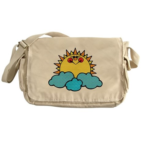 Sun Messenger Bag