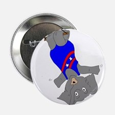 """Circus Elephant on the Trapeze 2.25"""" Button"""