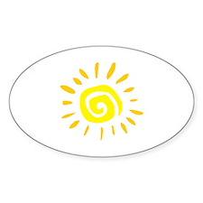 Sun Decal