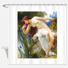 Seignac - Fragrant Iris - Shower Curtain