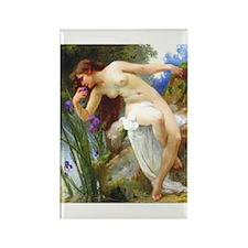 Seignac - Fragrant Iris - Rectangle Magnet