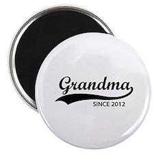 "Grandma since 2012 2.25"" Magnet (10 pack)"