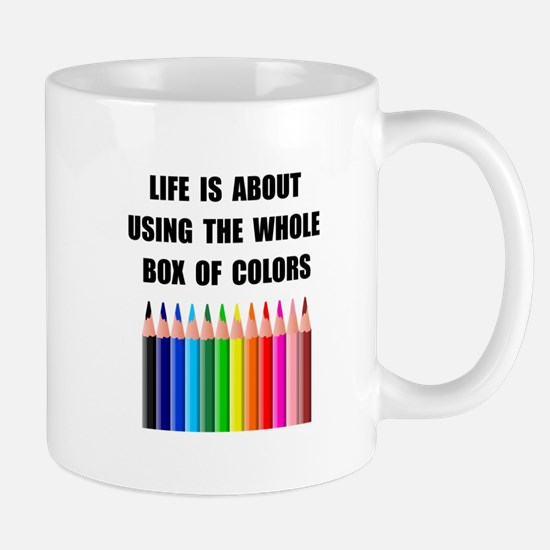 Box Of Colors Mug