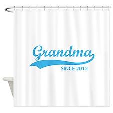 Grandma since 2012 Shower Curtain