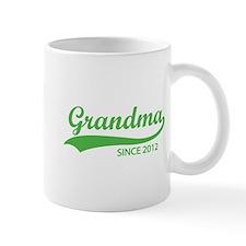 Grandma since 2012 Mug