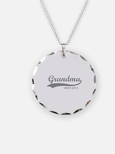 Grandma since 2013 Necklace