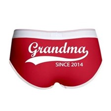 Grandma since 2014 Women's Boy Brief