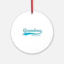 Grandma since 2014 Ornament (Round)