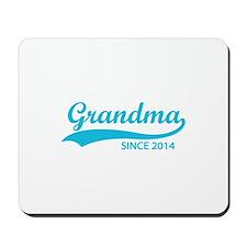 Grandma since 2014 Mousepad