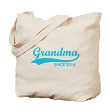 Grandma since 2014 Tote Bag