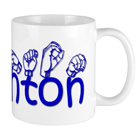 Ashton in ASL Mug