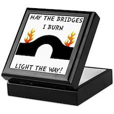 Bridges Burn Keepsake Box