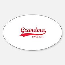 Grandma since 2014 Decal
