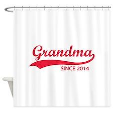 Grandma since 2014 Shower Curtain