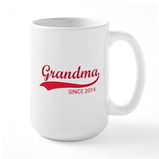 Grandma since 2014 Ceramic Mugs