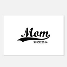 Mom since 2014 Postcards (Package of 8)