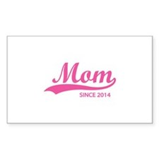 Mom since 2014 Decal