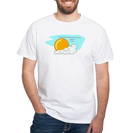 Sun White T-Shirt