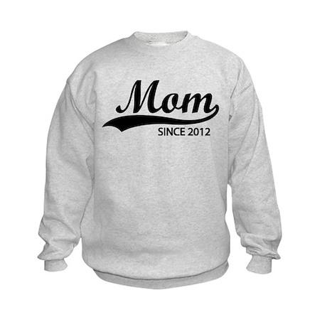 Mom since 2012 Kids Sweatshirt