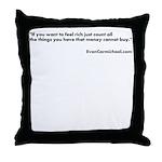 Motivational Throw Pillow