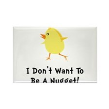 Chicken Nugget Rectangle Magnet (10 pack)