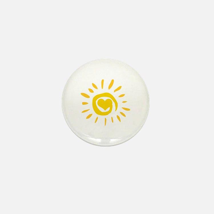 Sun Mini Button