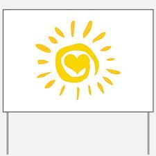 Sun Yard Sign