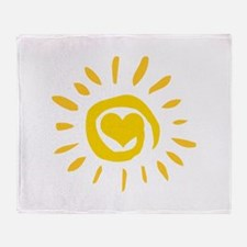 Sun Throw Blanket