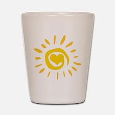 Sun Shot Glass