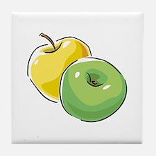 Apple Tile Coaster