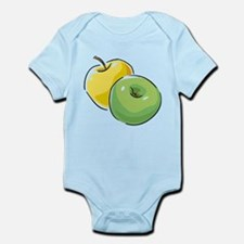 Apple Infant Bodysuit