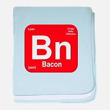 Bn (Bacon) Element baby blanket