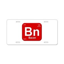 Bn (Bacon) Element Aluminum License Plate