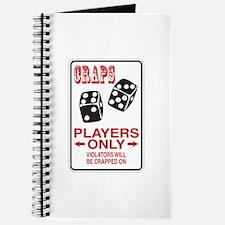 Craps Sign Journal
